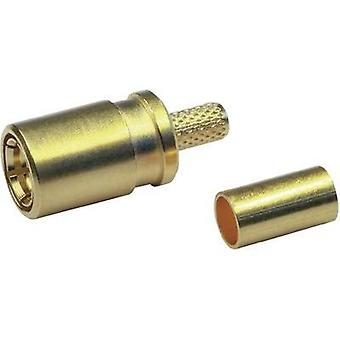 SMB connector Socket, straight 50 Ω Telegärtner J01161A0691 1 pc(s)