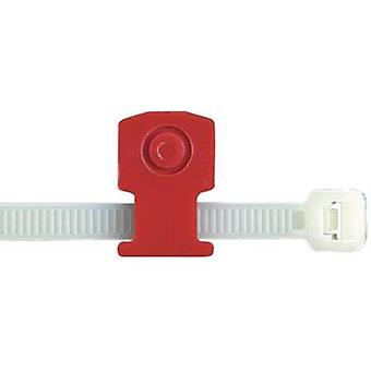 Push rivet applied low profile cable tie mount Red Panduit Content: 1 pc(s)