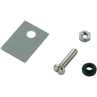 Semiconductor mounting set (L x W) 18 mm x 13 mm Suitable for TO 220 SCI A18-9B 1 Set