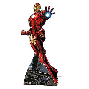 Iron Man Mini karton wyłącznik / Standee / Standup - Marvel Avengers Super Hero