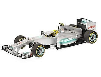 Mercedes Petronas W03 (Nico Rosberg - Showcar 2012) Diecast Model Car
