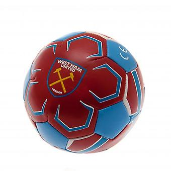 West Ham United 4 pulgadas bola suave