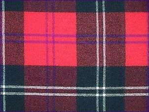 Ramsay Red, Modern - Pure Wool Tartan