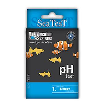 Aquarium Systems Sea Test Ph (Fish , Maintenance , pH & Other Substance Test Strips)