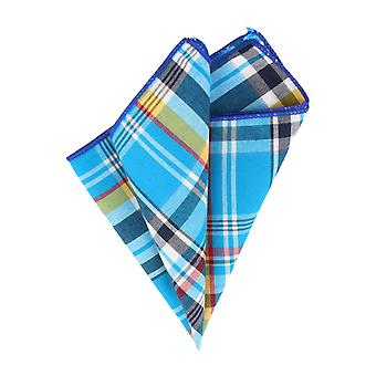 Andrews & co. handkerchief Blau grotesque Plaid handkerchief Cavalier cloth