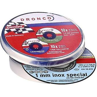 Dronco 6900935-100 10x cutting discs AS60T INOX
