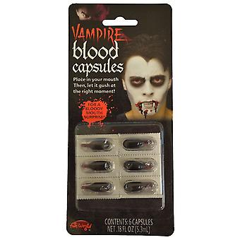 Blood Capsules Palmer Agencies Fancy Dress Halloween Accessory Fake Blood Horror