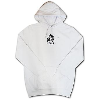 Crooks & Castles Corsica Pullover Hoodie White
