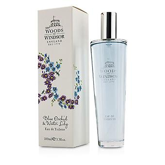 Woods Of Windsor Blue Orchid & Water Lily Eau De Toilette Spray 100ml/3.3oz