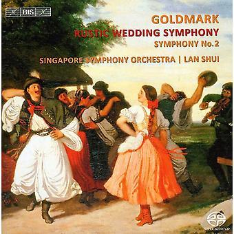 Karl Goldmark - Karl Goldmark: Rustic Wedding Symphony; Symphony No. 2 [SACD] USA import