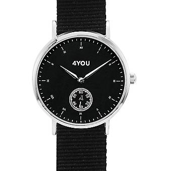 4YOU Dameur wrist watch analog quartz nylon 250001011