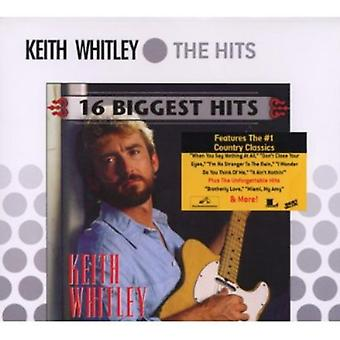 Keith Whitley - 16 största Hits [CD] USA import