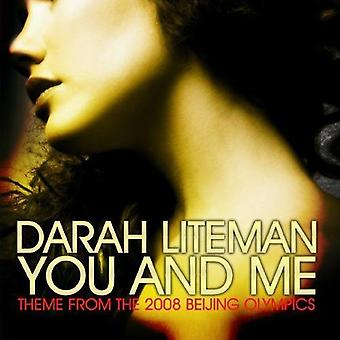 Darah Liteman - You & Me (Theme From the 2008 Beijing Olympics) [CD] USA import