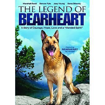 Legenden om Bearheart [DVD] USA importerer