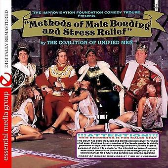 Koalicja Unified mężczyzn - metody mężczyzna klejenie & Stress Relief [CD] USA import