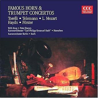 Torelli/Haydn - Famous Horn & Trumpet Concertos [CD] USA import