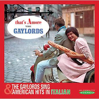 Gaylords - That's Amore / Gaylords Sing American Hits in [CD] USA import