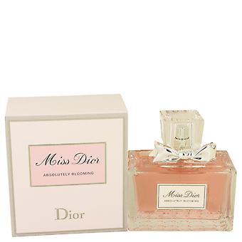 Christian Dior Women Miss Dior Absolutely Blooming Eau De Parfum Spray By Christian Dior
