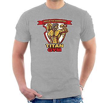 Titan fitness angreb på Titan mænd T-Shirt