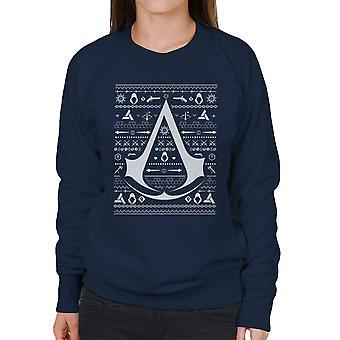 Christmas Strik Assassins Creed kvinders Sweatshirt