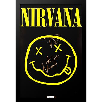 Nirvana Signed Poster