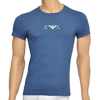 Emporio Armani Fashion Stretch Cotton Crew Neck T-Shirt, Aviation, X Large
