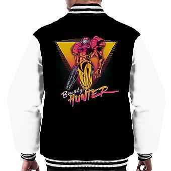 Samus The Space Bounty Hunter Metroid Men's Varsity Jacket