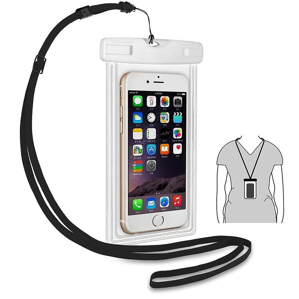 ONX3 (vit) Apple iPhone 5 / iPhone 5s / iPhone 5c Universal hållbara undervattens torra väska, Touch lyhörd genomskinliga Windows, vattentätt förseglat System Pouch