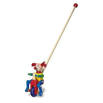 Legler Red clown to push (Garden , Games , Toys)