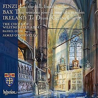 Westminster Abbey Choir O'Donnell, J. - Finzi Bax & Irland: Körmusik [CD] USA import