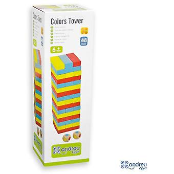 Andreu Toys Colors Tower (Toys , Boardgames , Skills)