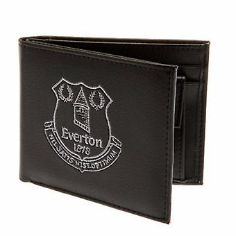 Everton FC Official Mens Embroidered Football Crest Wallet