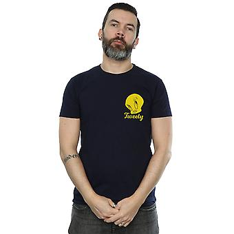 Looney Tunes Men's Tweety Pie Head T-Shirt