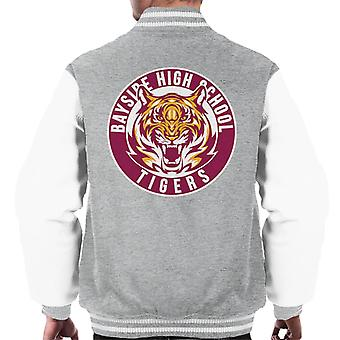 Bayside Tigers Saved By The Bell Sports Logo Men's Varsity Jacket