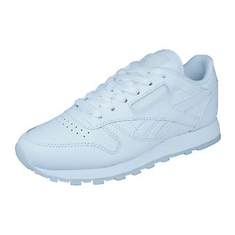 Reebok Classic Leather Solids Mens Trainers / Shoes - White