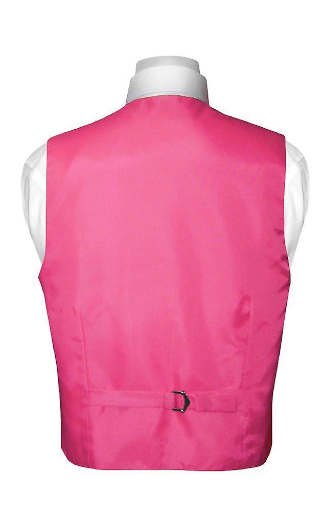 BOY'S Dress Vest & BOW TIE Solid Bow Tie Set