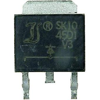 Diode bridge Diotec S16MSD2 TO 263AB 1000 V 8 A
