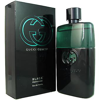 Gucci Guilty Black für Männer 3,0 oz EDT Spray
