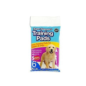 Puppy Training Pads - 6-Pack