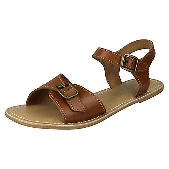 Lederen dames collectie enkel riem sandalen F00149