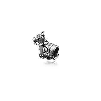 Charms Beads 925 Silver rocking horse