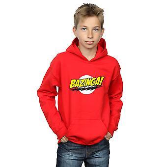The Big Bang Theory Boys Sheldon Bazinga Hoodie