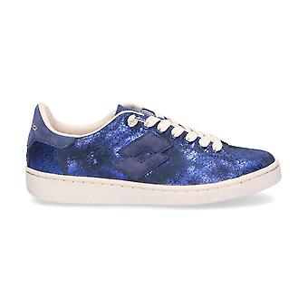 Lotto ladies T868BLUE Blau leather of sneakers