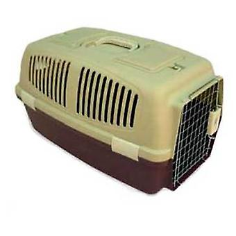 Axis-Biozoo Small Plastic Carrier for Small Dogs and Cats