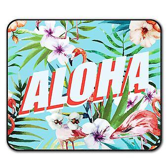 Aloha Holiday  Non-Slip Mouse Mat Pad 24cm x 20cm | Wellcoda