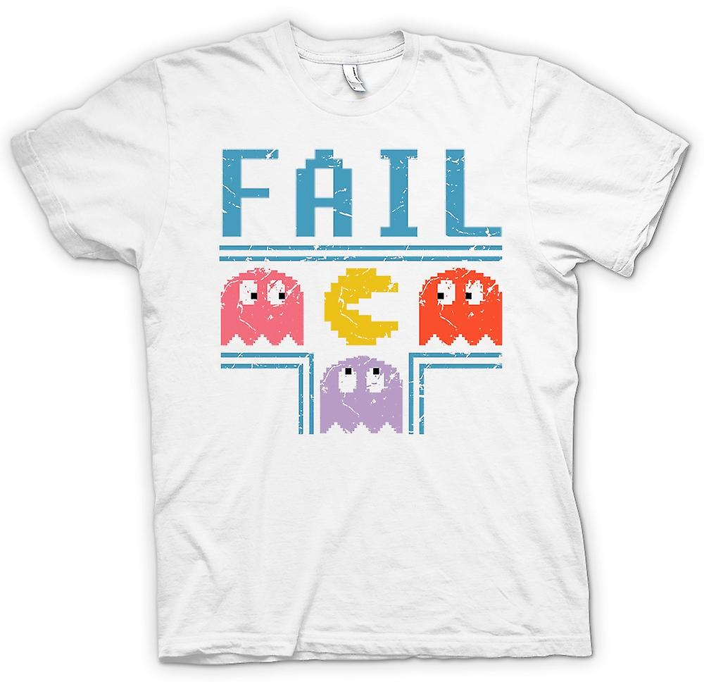 Mens T-shirt - Pacman Inspired Fail - Gamer