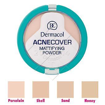 3 x Dermacol Acnecover Mattifying Powder 11g - Choose Shade