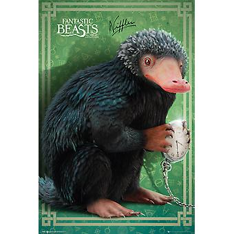Fantastic Beasts and Where To Find Them Niffler Maxi Poster