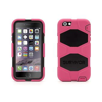 Griffin Survivor All-Terrain Case for Apple iPhone 6/6s Plus in Pink/Black