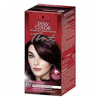 Schwarzkopf Poly Color Tint - Red Black 87